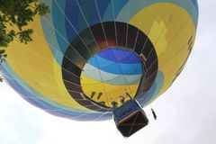 2018 Luxembourg Balloon Trophy. The Luxembourg Balloon Trophy is first and foremost a high level sporting event held in Mersch, right in the heart of Luxembourg stock images