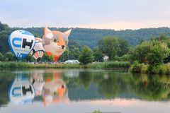2018 Luxembourg Balloon Trophy royalty free stock photos
