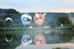 2018 Luxembourg Balloon Trophy royalty free stock images