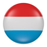 Luxembourg button Stock Photography