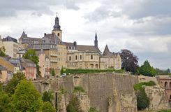 Luxembourg Castle Royalty Free Stock Photos
