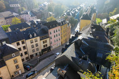 Luxembourg center Stock Photo