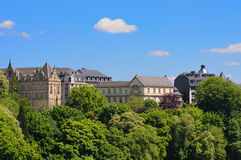 Luxembourg city Royalty Free Stock Photography