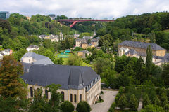 Luxembourg City. Stock Image