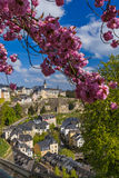 Luxembourg city cityscape Royalty Free Stock Photo