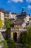 Luxembourg city cityscape. Architecture background Royalty Free Stock Photos
