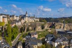 Luxembourg city cityscape. Architecture background Stock Photo