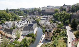 Luxembourg City. Stock Photo