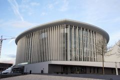 Philharmonie Luxembourg in Luxembourg City royalty free stock images