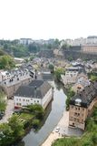 Luxembourg City. landscape Royalty Free Stock Image