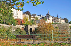 Luxembourg City,Luxembourg-Grund Stock Image
