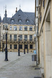 LUXEMBOURG CITY, LUXEMBOURG - JULY 01, 2016: Grand Ducal Palace Royalty Free Stock Photography