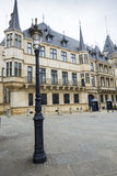 LUXEMBOURG CITY, LUXEMBOURG - JULY 01, 2016: Grand Ducal Palace Stock Photo
