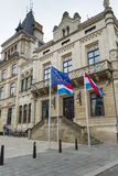 LUXEMBOURG CITY, LUXEMBOURG - JULY 01, 2016: Grand Ducal Palace Royalty Free Stock Photos