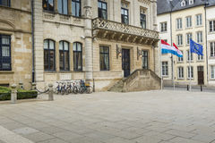 LUXEMBOURG CITY, LUXEMBOURG - JULY 01, 2016: Grand Ducal Palace Royalty Free Stock Image