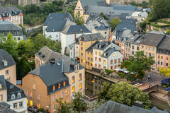 Luxembourg City night Royalty Free Stock Photo