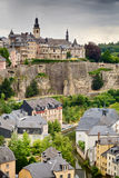 Luxembourg City Old Town Royalty Free Stock Image