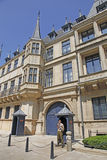 Luxembourg City Palace Royalty Free Stock Photography