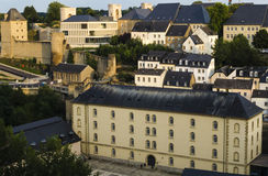 Luxembourg city view Royalty Free Stock Photo