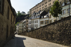Luxembourg city view Stock Photo