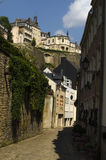 Luxembourg city view Royalty Free Stock Image