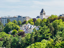 Luxembourg cityscape Royalty Free Stock Images