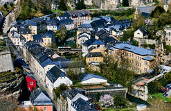 Luxembourg cityscape. Western Europe Stock Images