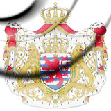 Luxembourg coat of arms. Royalty Free Stock Photos