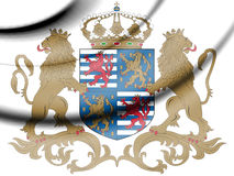 Luxembourg coat of arms. 3d Rendered Luxembourg coat of arms Royalty Free Stock Photos