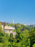 Luxembourg in early morning stock photo