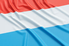 Luxembourg flag Royalty Free Stock Photography