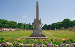 Luxembourg Garden Stock Photo