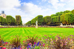 Luxembourg Garden Stock Photography