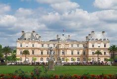 Luxembourg garden, Paris stock images