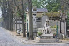 Luxembourg Garden in Paris. The Jardin du Luxembourg or the Luxembourg Garden located in Paris, France. The garden contains just over a hundred statues stock photography
