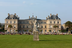 Luxembourg Garden in Paris royalty free stock photo
