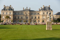 the Luxembourg Garden in Paris. royalty free stock images