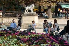 Luxembourg Garden in Paris Stock Photos