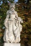 Luxembourg Garden in Paris. Statue in Luxembourg garden of Luxembourg Palace, Paris, France stock photography