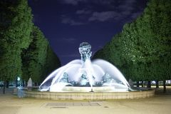The Luxembourg Gardens Stock Photos