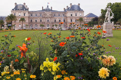 Luxembourg Gardens Stock Photo