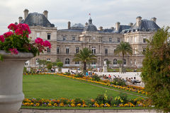 Luxembourg Gardens Royalty Free Stock Photography