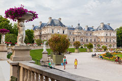 Luxembourg Gardens royalty free stock photo