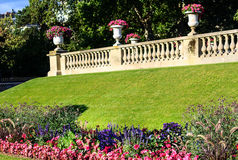 The Luxembourg Gardens (Jardin du Luxembourg ) in Paris, France Stock Photography