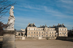 Luxembourg Gardens in Paris Royalty Free Stock Images