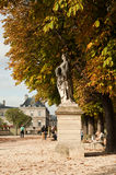 Luxembourg Gardens in Paris. France Stock Photo