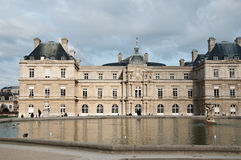 Luxembourg Gardens in Paris Royalty Free Stock Photos