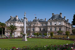 Luxembourg Gardens in Paris Royalty Free Stock Photography