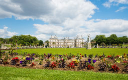 Luxembourg Gardens in Paris, France Royalty Free Stock Images