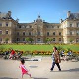 Luxembourg Gardens Stock Photos